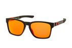 Oakley Catalyst OO 9272 07 Zwart / Bruin perspective view thumbnail