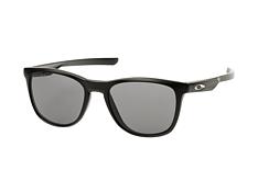 Oakley Herren Sonnenbrille »FROGSKINS OO9013«, schwarz, 9013C4 - schwarz/schwarz