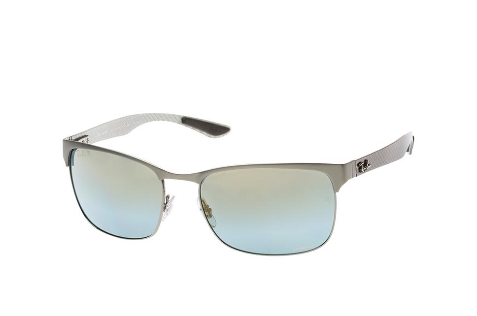 RB 8319Ch 9075J0, Rectangle Sonnenbrillen, Silber
