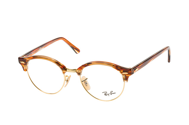67a5312098 ... Glasses  Ray-Ban Clubround RX 4246V 5751 L. null perspective view ...