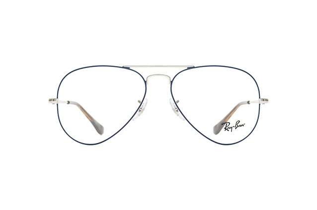 2a7d07eb3491 ... Glasses; Ray-Ban Aviator RX 6489 2970 S. null perspective view; null  perspective view; null perspective view ...