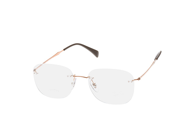RAY BAN RAY-BAN Brille » RX8748«, braun, 1131 - braun