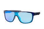 Oakley Crossrange Shield OO 9387 03 Azul oscuro / Lila perspective view thumbnail