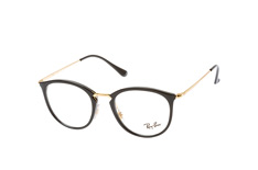 ray-ban-rx-7140-2000-small-round-brillen-goldfarben