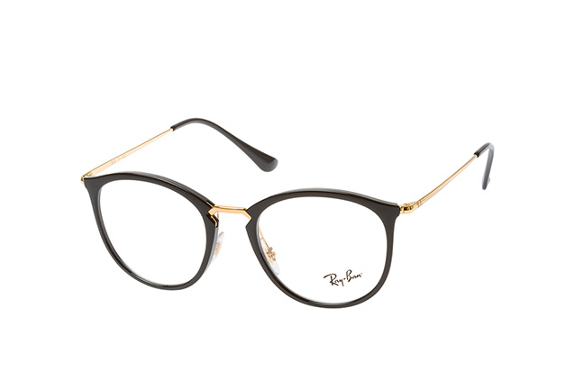 Ray-Ban RX 7140 2000 large Perspektivenansicht