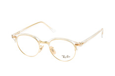 ray-ban-clubround-rx-4246v-5762-s-round-brillen-goldfarben