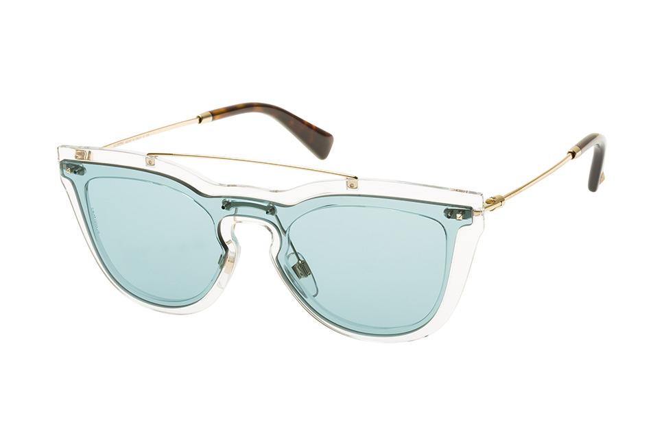 VA 4008 5024/80, Singlelens Sonnenbrillen, Transparent