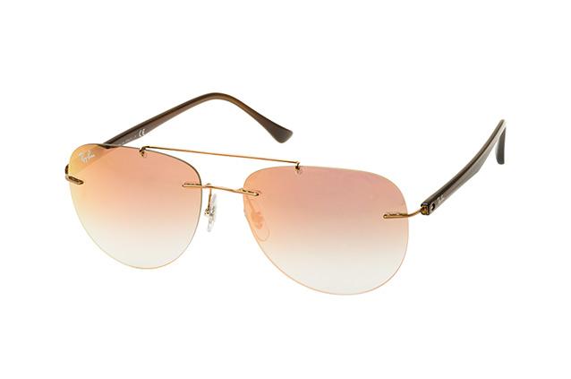 RAY BAN RAY-BAN Herren Sonnenbrille » RB8059«, rosa, 155/B9 - rosa/rosa