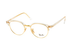 ray-ban-clubround-rx-4246v-5762-l-round-brillen-goldfarben