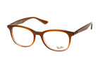 Ray-Ban RX 5356 5765 Havana / Brown perspective view thumbnail