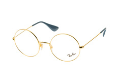 ray-ban-rx-6392-2500-small-round-brillen-goldfarben