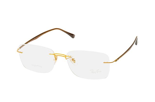 RAY BAN RAY-BAN Brille » RX8750«, goldfarben, 1194 - gold