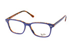Ray-Ban RX 7119 2012 large Blauw / Havana perspective view thumbnail