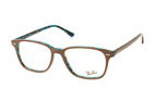 Ray-Ban RX 7119 2012 large Blauw / Bruin perspective view thumbnail