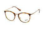 Ray-Ban RX 7140 5687 large Havana / Gold perspective view thumbnail