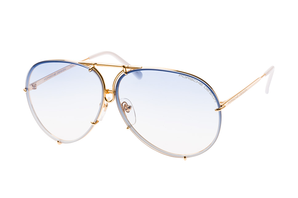 Design P 8478 W small, Aviator Sonnenbrillen, Goldfarben