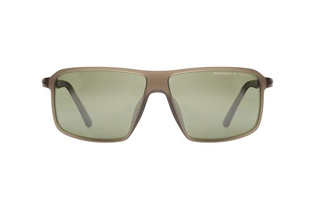PORSCHE Design Porsche Design Herren Sonnenbrille » P8650«, grau, C - grau/ silber