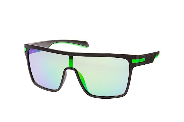 Polaroid Herren Sonnenbrille » PLD 2064/S«, schwarz, 003/5Z - schwarz/ grün