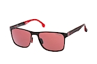Carrera CA 8026/S BLX Red / Black / Polarised red/purple perspective view thumbnail