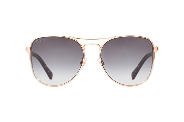JIMMY CHOO Jimmy Choo Damen Sonnenbrille » SHEENA/S«, goldfarben, DDB/9O - gold/grau