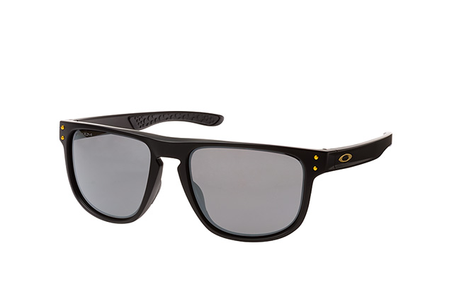 Oakley Holbrook Round Sonnenbrille Schwarz/Grau xqZKx9H
