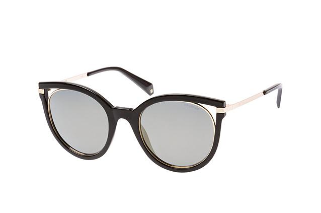 Polaroid Damen Sonnenbrille » PLD 4067/S«, schwarz, 2M2/LM - schwarz/ gold