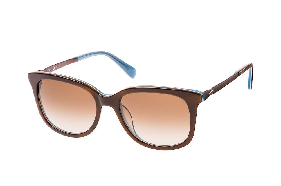 FOS 2079/s Iwfha, Square Sonnenbrillen, Blau