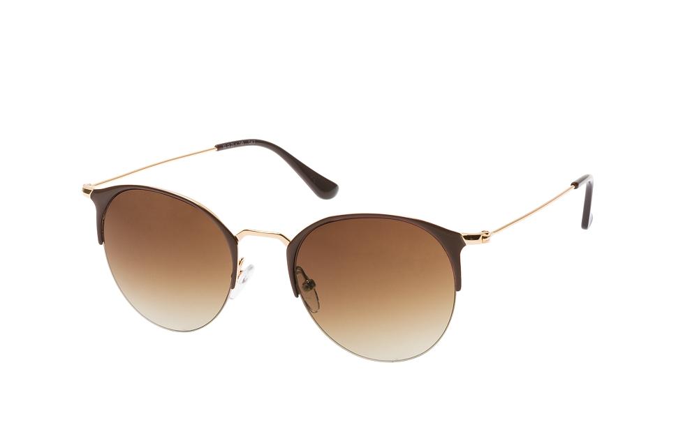 Moore 2041 001, Round Sonnenbrillen, Braun