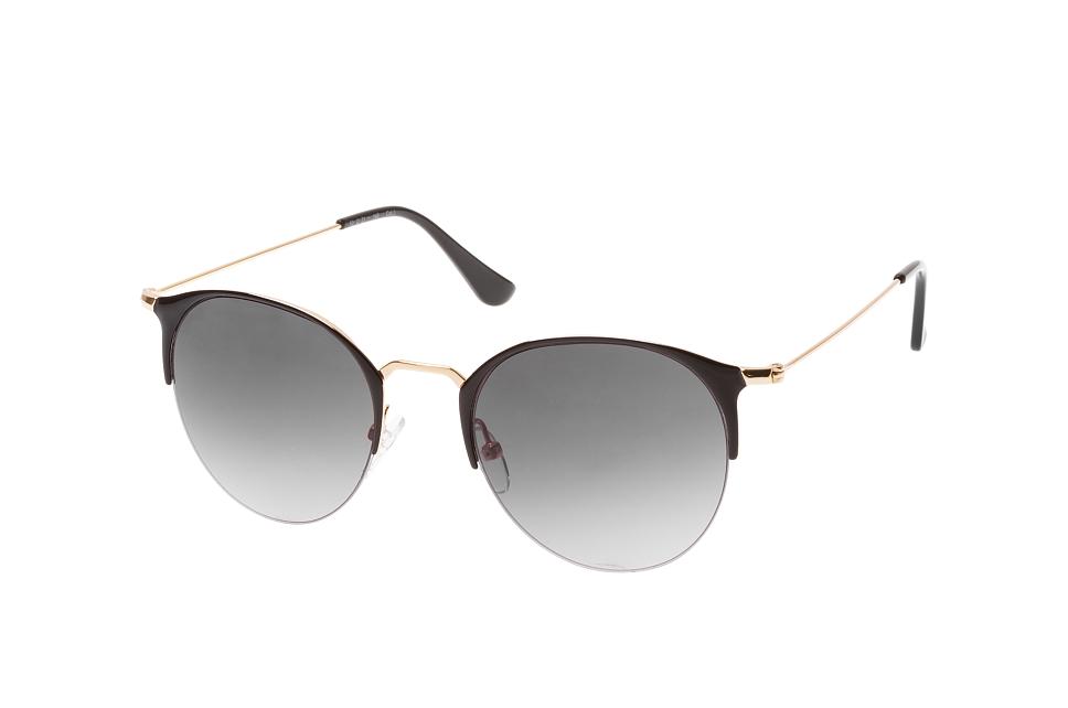 Moore 2041 002, Round Sonnenbrillen, Goldfarben