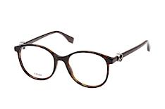 fendi-ff-0299-086-round-brillen-havana