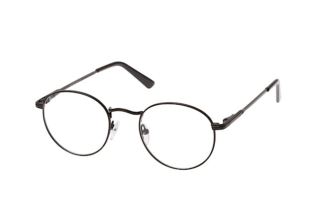 Mister Spex Collection Daniell 604 black vue en perpective