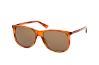 Gucci GG 0263S 001 Brown / Brown perspective view thumbnail