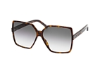 Saint Laurent SL 232 Betty 005 Havana / Grey perspective view thumbnail