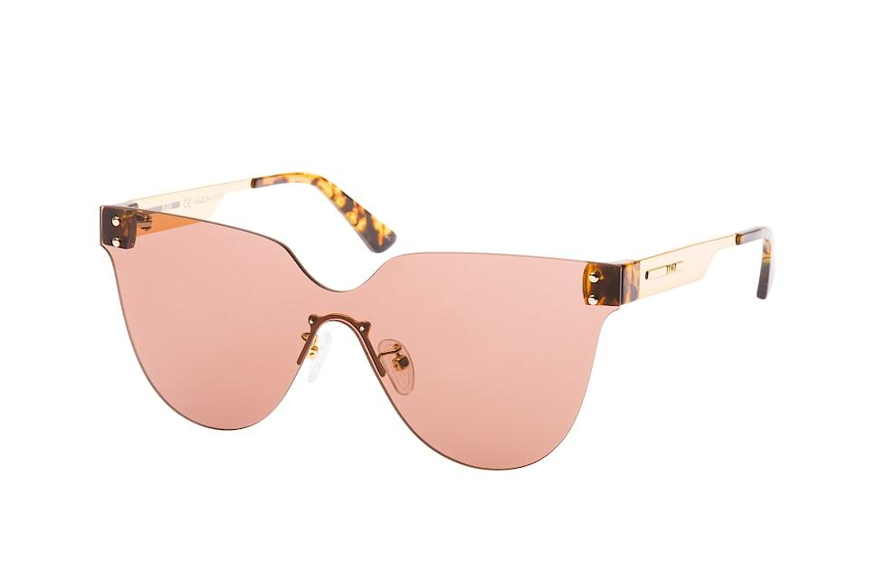 McQ MQ 0130S 002, Singlelens Sonnenbrillen, Braun