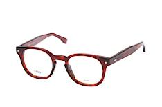 fendi-ff-0217-0uc-round-brillen-rot, 258.95 EUR @ mister-spex-de