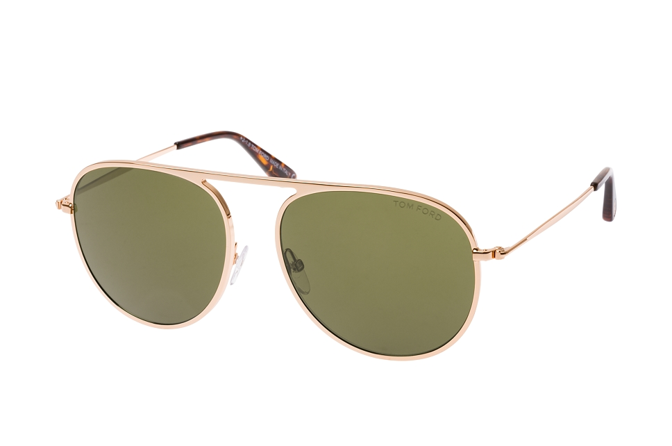 Jason-02 FT 0621/s 28L, Aviator Sonnenbrillen, Goldfarben