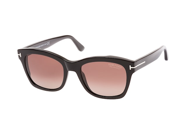 dd14c032cfb08 ... Sunglasses  Tom Ford Lauren-02 FT 0614 S 01H. null perspective view ...
