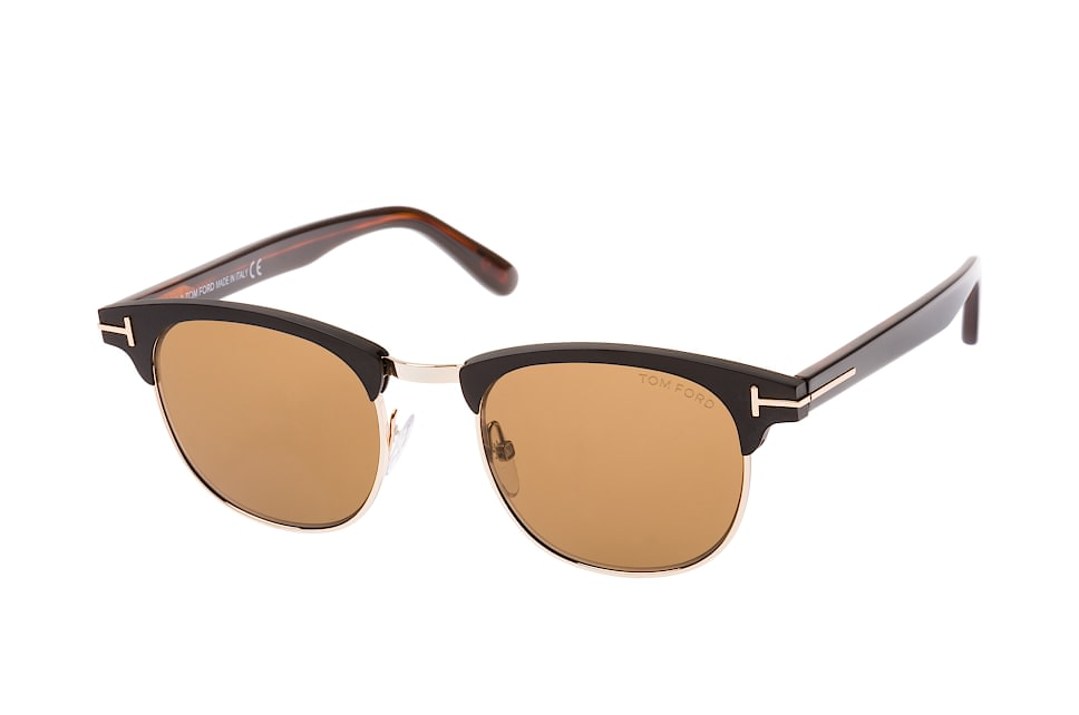 Laurent-02 FT 0623/s 02J, Browline Sonnenbrillen, Goldfarben