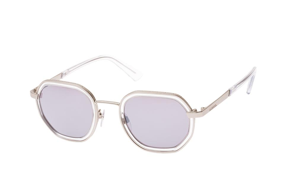 DL 0267/s 17C, Round Sonnenbrillen, Silber