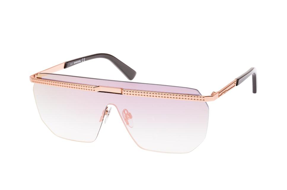 DL 0259/s 72U, Singlelens Sonnenbrillen, Goldfarben