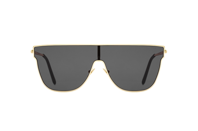Super by Retrosuperfuture Lenz Flat Top Black 3HM/R Perspektivenansicht