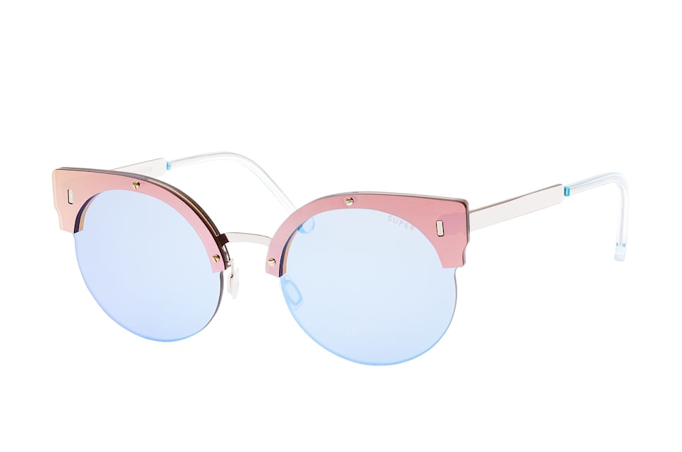 Super by Retrosuperfuture Era Rose Gold 7Iu/r, Browline Sonnenbrillen, Rosa