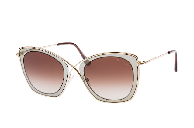 Tom Ford Damen Sonnenbrille » FT0605«, braun, 50K - braun/braun
