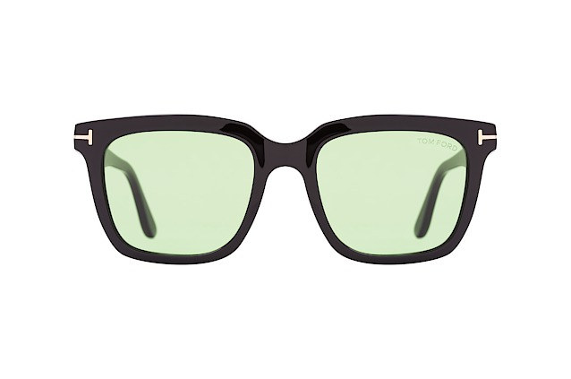 Tom Ford Marco-02 FT 0646/S 01N vista en perspectiva