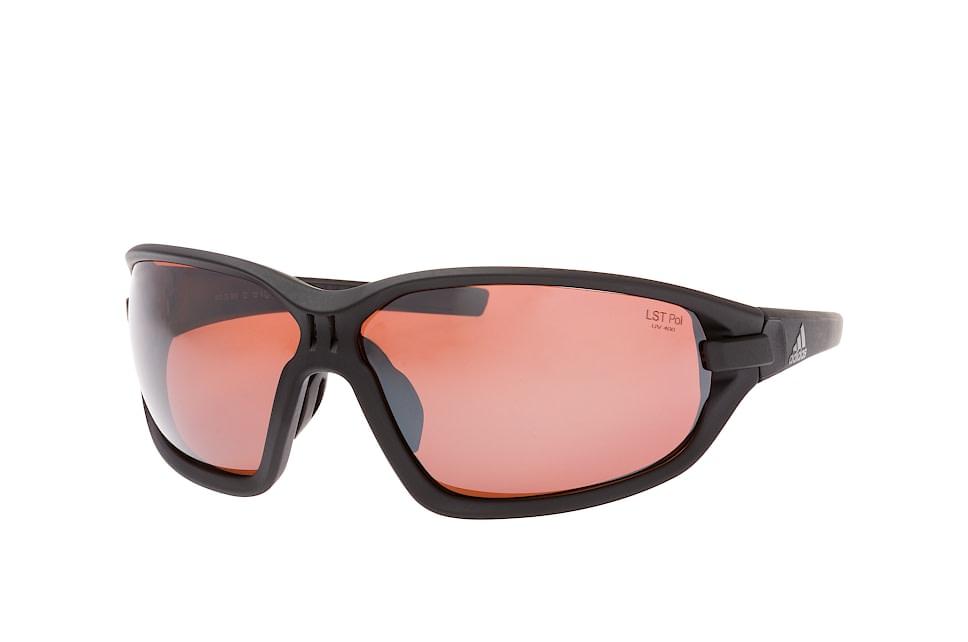 evo basic AD 10/75 9500, Sporty Sonnenbrillen, Schwarz