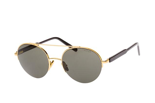 Super Flat Top   Svart   Solglasögon   FTB 036   Caliroots