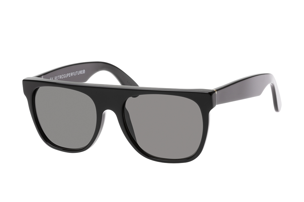 Super by Retrosuperfuture Cooper Black Gold 01C/r, Square Sonnenbrillen, Goldfarben