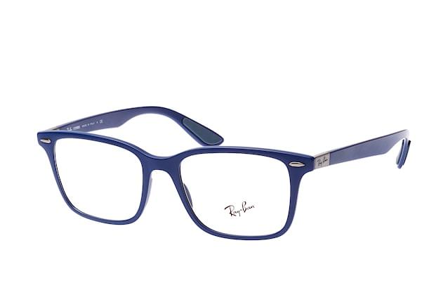 RAY BAN RAY-BAN Herren Brille » RX7144«, blau, 5207 - blau