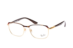 ray-ban-rx-6420-2917-rectangle-brillen-goldfarben