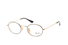 ray-ban-rx-3547v-2991-round-brillen-goldfarben